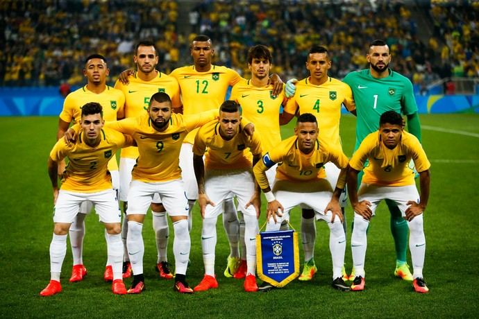 Brasil x Colombia (Foto: AFP)