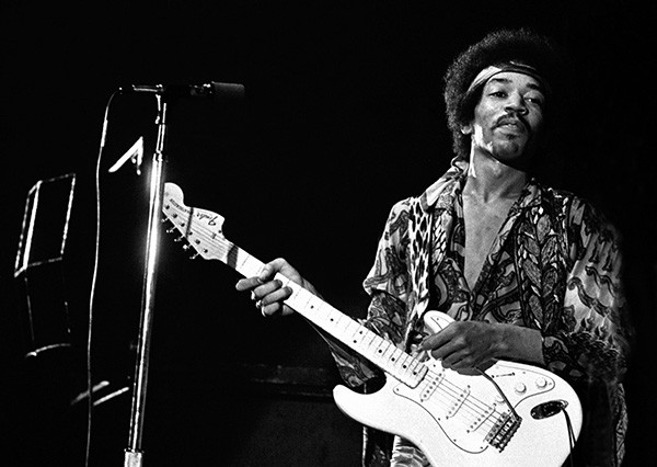 Jimi Hendrix (Foto: Reprodução)