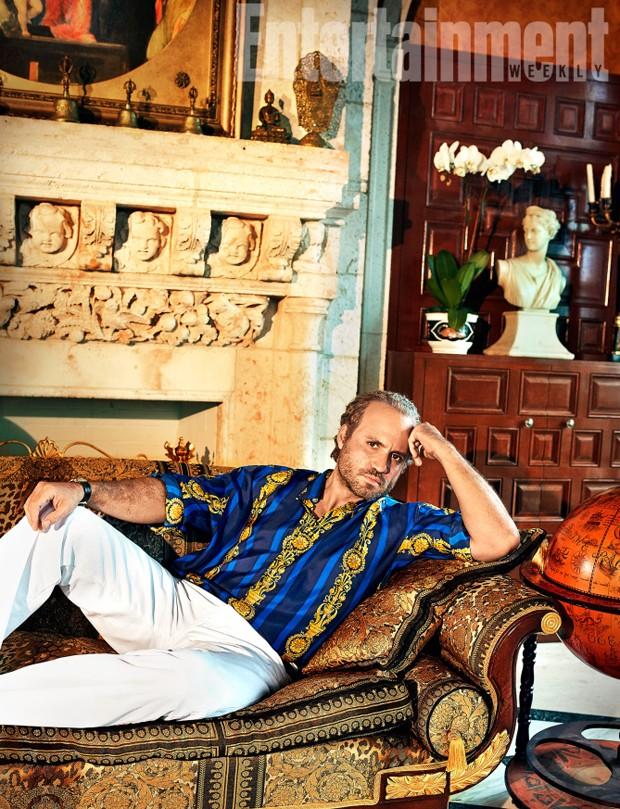 Edgar Ramirez como Gianni Versace (Foto: Reprodução/Entertainment Weekly)