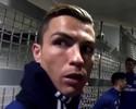 Em vídeo, CR7 imita Felipão e cita o Grêmio em conversa com brasileiros