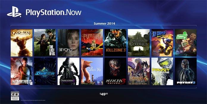 PS Now promete levar diversos jogos ao PS4 (Foto: Divulgação)