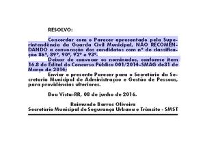Motivo que levou à exclusão dos candidatos foi publicado no dia 13 de junho, com data retroativa a 8 de junho (Foto: Reprodução/Diário Oficial do Município)