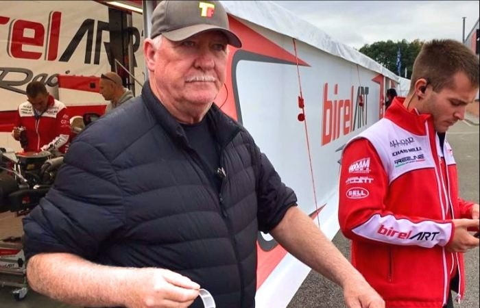 Terry Fullerton no Mundial de Kart