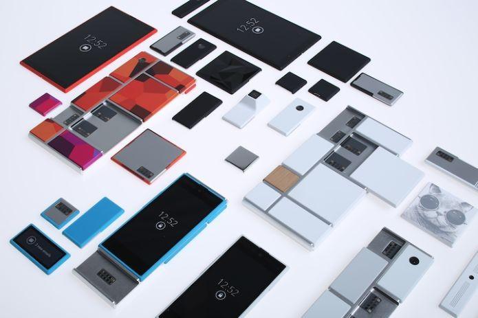 Um smartphone feito com outros smartphones para reduzir a poluição tecnológica (Foto: Wikimedia Commons)