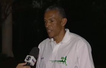 """Joaquim Cruz comemora condução de tocha olímpica: """"Momento mágico"""""""