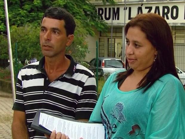 Mãe conta que precisou recorrer à Justiça para ter direito garantido (Foto: Reprodução EPTV)