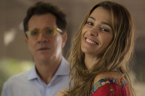Mônica Martelli em cena como Fernanda (Foto: Divulgação)
