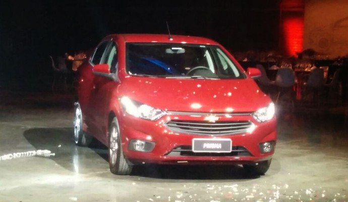 Novo Chevrolet Prisma (Foto: Alexandre Izo)