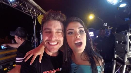 Guilherme Leicam sobe no trio de Wesley Safadão com Munik e MC Gui no 'Fortal'