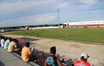 Bombeiros pedem ajustes no Gilbertão para liberar estádio para Série D
