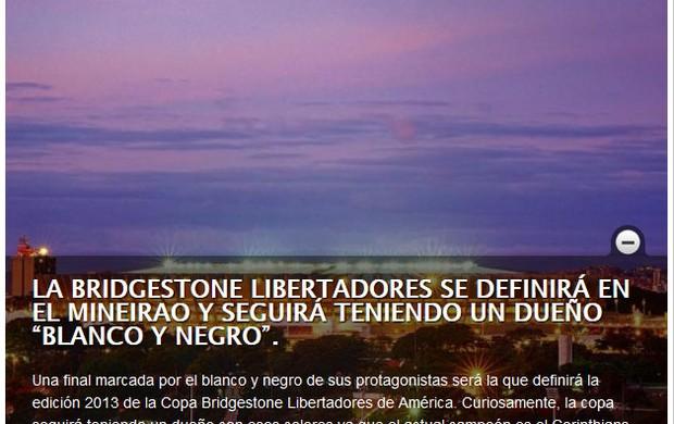 Mineirão, Atlético-MG (Foto: Reprodução / Site Oficial da Conmebol)