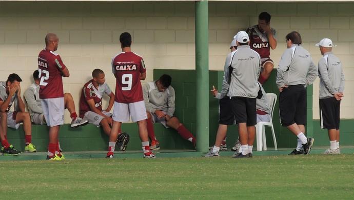 figueirense treino (Foto: Rafael Thomé)