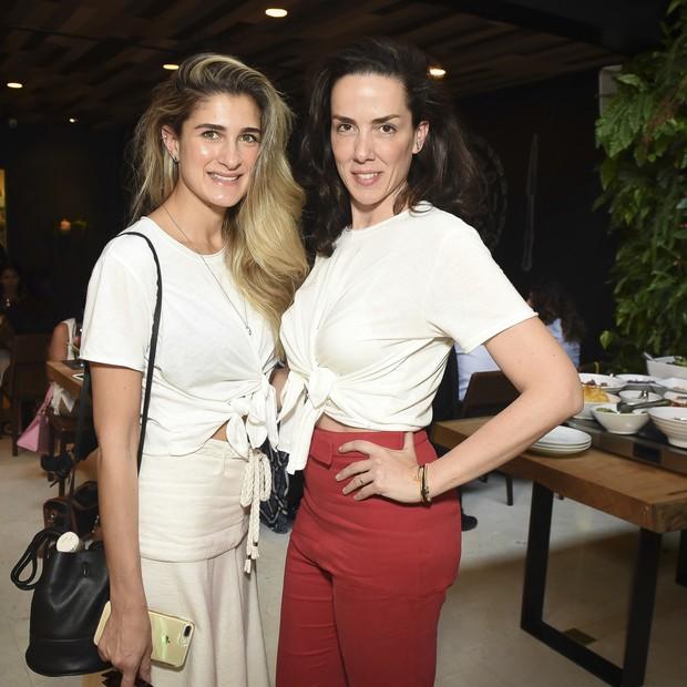 Barbara Migliori e Ana Isabel de Carvalho Pinto (Foto: Cleiby Trevisan)