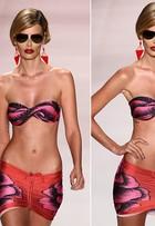 A Triya cria uma mulher forte e exagerada em coleção desfilada no Fashion Rio