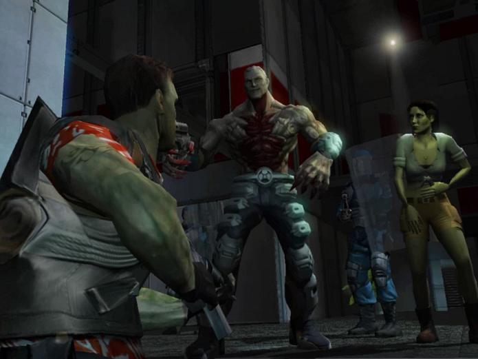 Game tinha confrontos com mutantes (Foto: Divulgação)