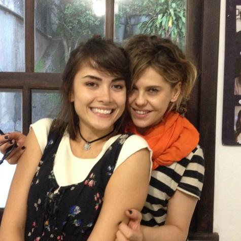 Maria Casadevall e Bárbara Paz (Foto: Divulgação)