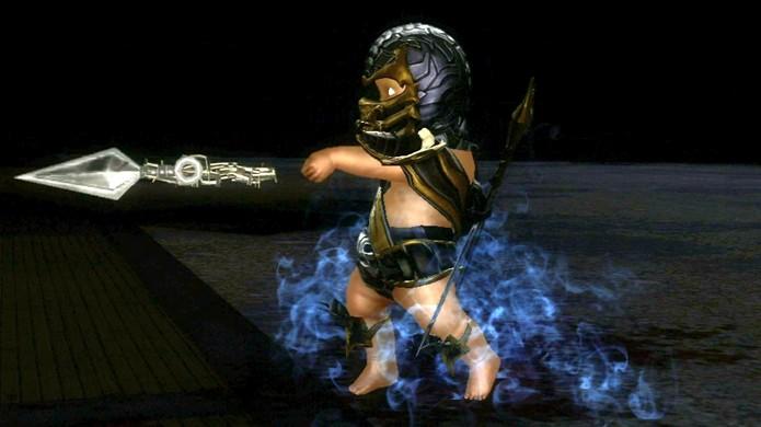 Humilhe seus oponentes em Mortal Kombat 9 transformando-os em bebês (Foto: Reprodução/IGN)