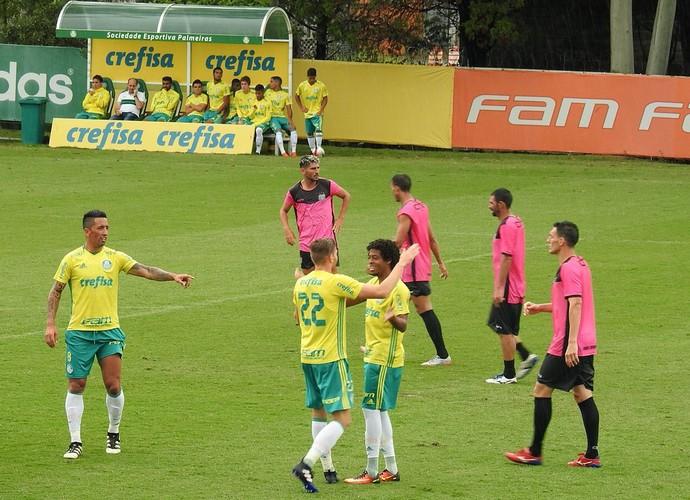 Palmeiras x União Barbarense jogo-treino Academia (Foto: Tossiro Neto)