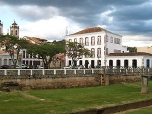 Museu Regional e Praça Severiano Resende São João del Rei (Foto: Museu Regional/Arquivo)