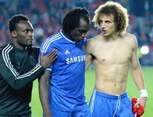 David Luiz e Lukaku Bayern de Munique e Chelsea super copa (Foto: Getty Images)