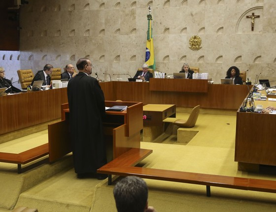 Sessão do Supremo Tribunal Federal (Foto: José Cruz / EBC / FotosPúblicas)