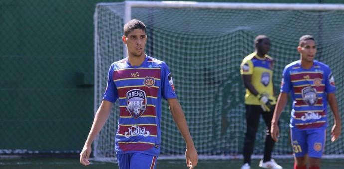 Bernardo, Madureira (Foto:  Antes de atuar pelo Gonçalense, Bernado jogava no Futebol 7 do Madureira)