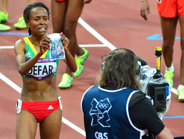Meseret Defar, Atletismo (Foto: Ag&#234;ncia AFP)