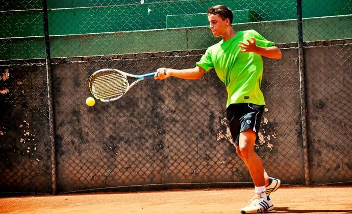 Gustavo Cruz participa de Campeonato em SC (Foto: Marcel Sachetti / Cedida)