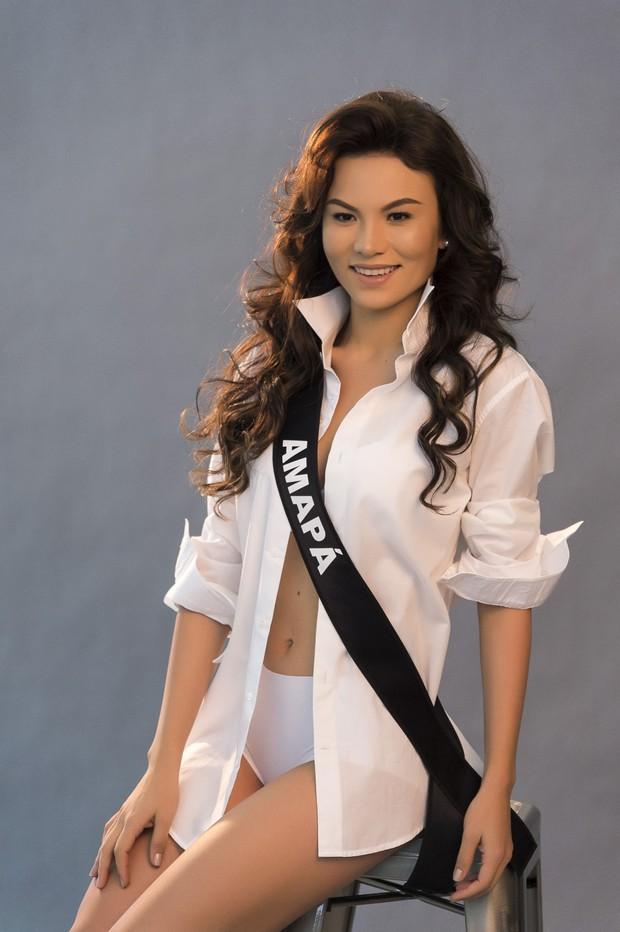 Miss Amapá BE Emotion 2016 – Joely Teixeira; (Foto: Lucas Ismael / Divulgação Miss BE Emotion 2016)