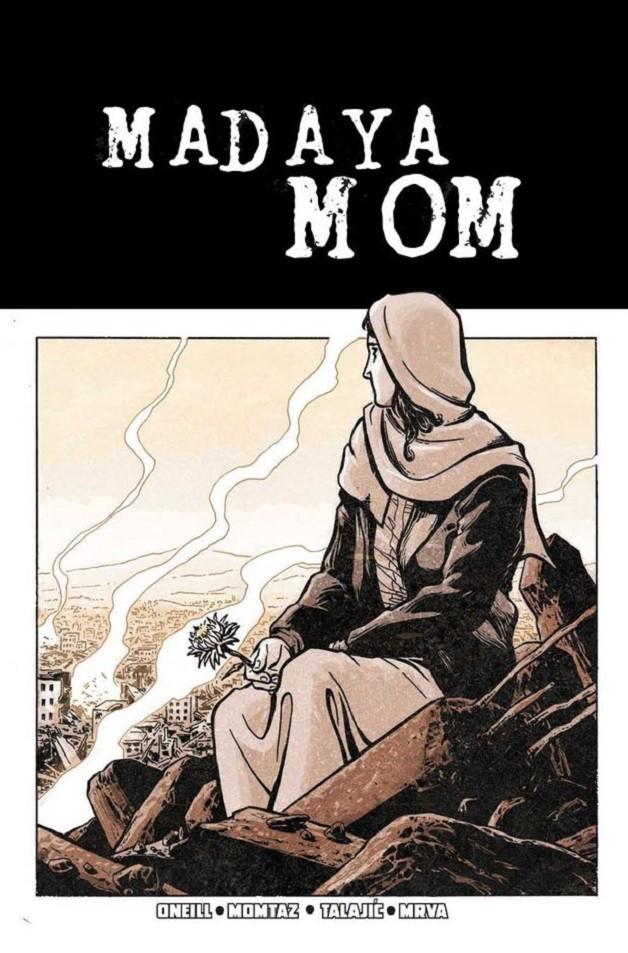 """""""Madaya Mom"""": história de uma mãe síria que luta para garantir a sobrevivência de seus cinco filhos (Foto: Marvel)"""