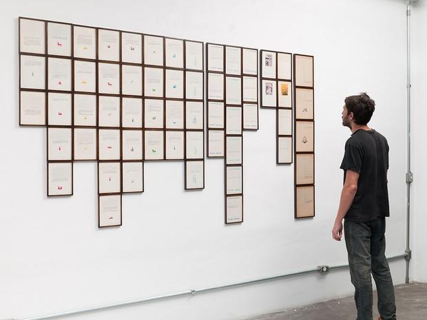 """""""Projeto para finais felizes"""", trabalho de Flavia Junqueira que pode ser visto na Temporada de Projetos do Paço das Artes (Foto: Edouard Fraipont / Divulgação)"""