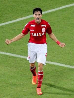 Rodrigo Pimpão, atacante do América-RN (Foto: Fabiano de Oliveira)