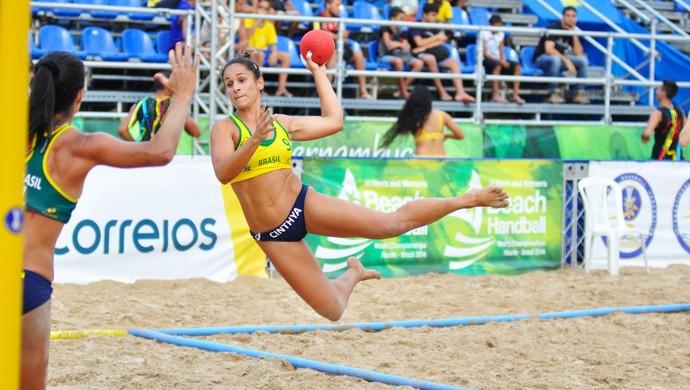 Handebol de Areia brasil - feminino (Foto: Cinara Piccolo/Photo&Grafia)