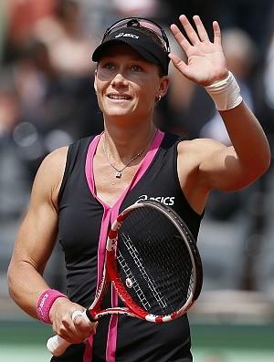 Samantha Stosur tênis Roland Garros quartas (Foto: AFP)