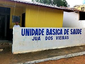 posto de saúde de juá dos vieiras (Foto: Giselle Dutra/G1)