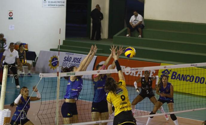 São José vôlei x Rio Sul Superliga Feminina (Foto: Antonio Basílio/PMSJC)
