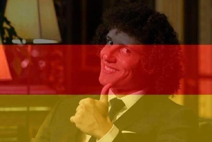 David Luiz 7 a 1 Alemanha