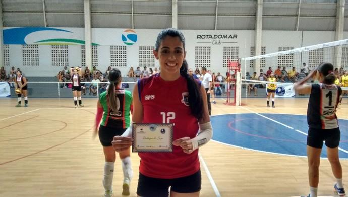 Francyely Lemos - Renata Valinhos (Foto: Mavian Barbosa / GloboEsporte.com)