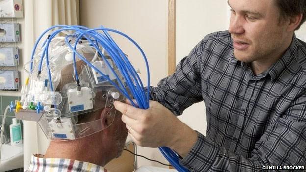 O protótipo está passando por adaptações e mais testes (Foto: Gunilla Brocker/BBC)