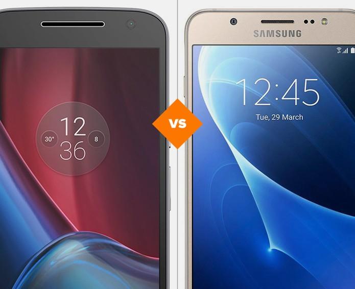 Moto G 4 Plus vs Galaxy J7 Metal: conheça as diferenças nas especificações (Foto: Arte/TechTudo)