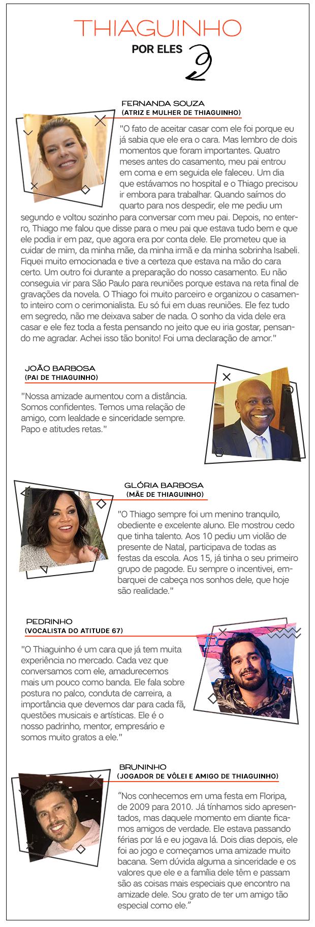 Thiaguinho depoimentos (Foto:  )