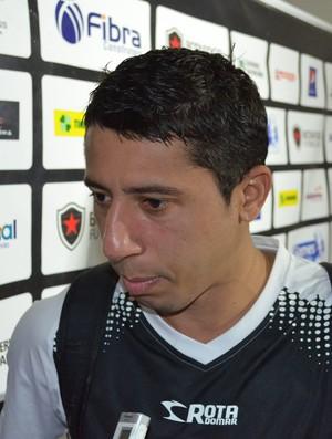 Ferreira, botafogo-pb, Almeidão, João Pessoa, Paraíba (Foto: Phelipe Caldas, Globoesporte.com/PB)