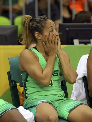 Brasil x Turquia; basquete feminino; olimpíada (Foto: REUTERS/Shannon Stapleton)