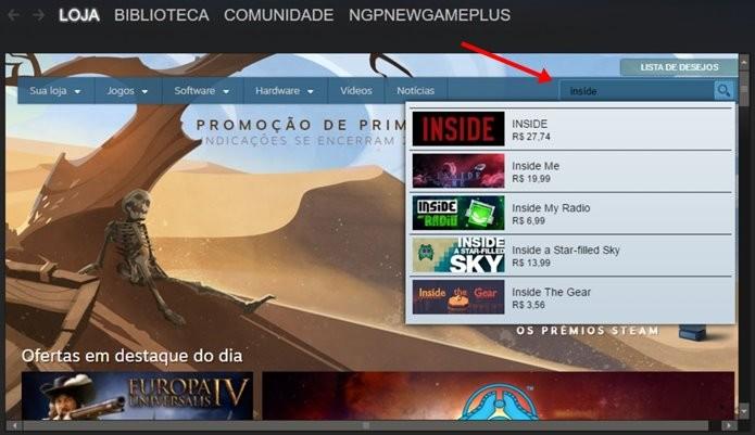 Demo de Inside está disponível exclusivamente para PC (Imagem: Reprodução/Felipe Demartini)