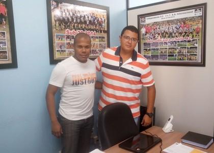 Jackson Ribeiro Araújo da Silva Júnior Gerente de Futebol do Independente (Foto: Jonathan Bueno / Independente)