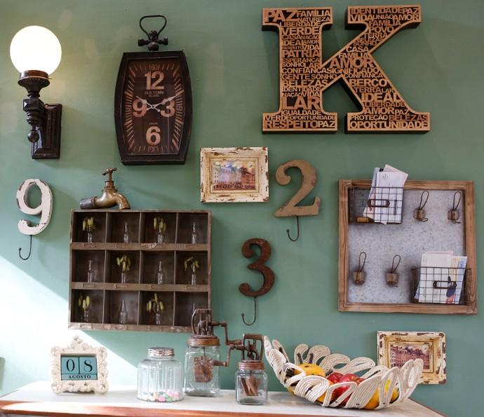 Aproveite os objetos antigos que trazem boas lembranças e decore sua casa com eles (Foto: Ellen Soares / Gshow)