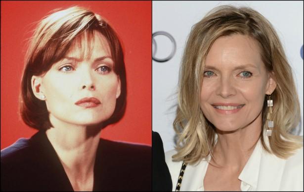 A bela Michelle Pfeiffer, que fez a Mulher-Gato em 'Batman - O Retorno' (1992), está com 56 anos. Em março de 1996, quando estrelou 'Íntimo & Pessoal' (1996), tinha 37. (Foto: Getty Images)