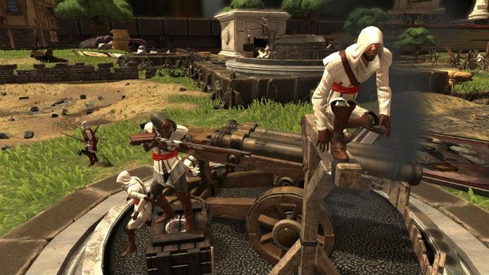 Até mesmo Ezio, de Assassins Creed, está no jogo (Foto: Divulgação/Ubisoft)