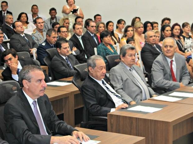 Posse deputados estaduais de MS (Foto: Graziela Rezende/ G1 MS)
