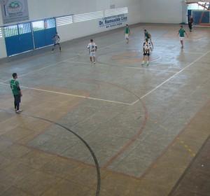 Treino do Central de Futsal  (Foto: Vital Florêncio / GE.COM/CARUARU)